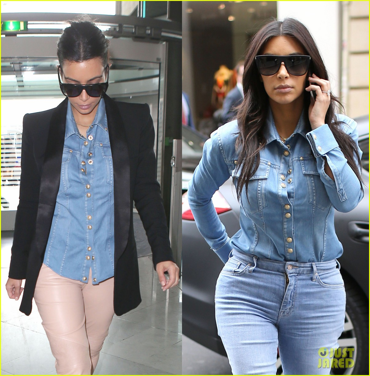 kim kardashian wears same shirt two days in a row after wedding dress shopping 023102919