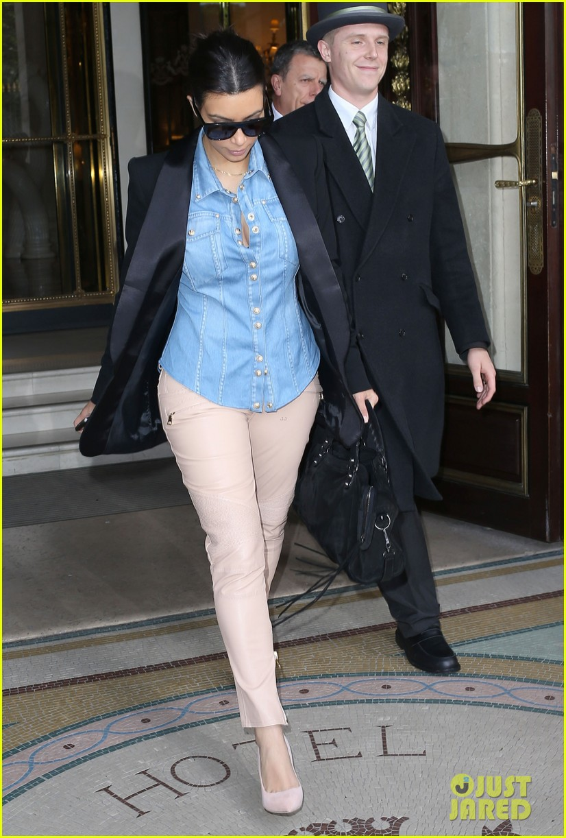 kim kardashian wears same shirt two days in a row after wedding dress shopping 063102923