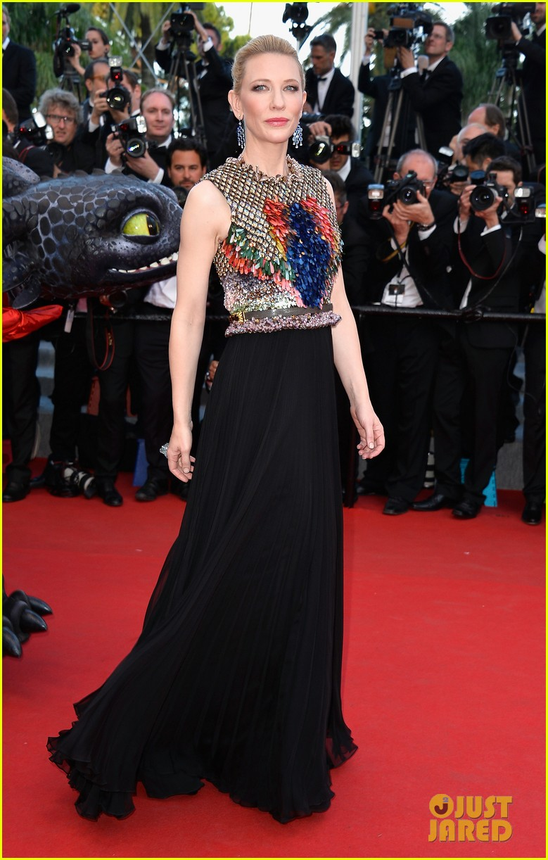 cate blanchett kit harington how to train your dragon 2 cannes premiere 133115109