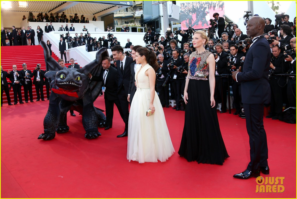 cate blanchett kit harington how to train your dragon 2 cannes premiere 173115113