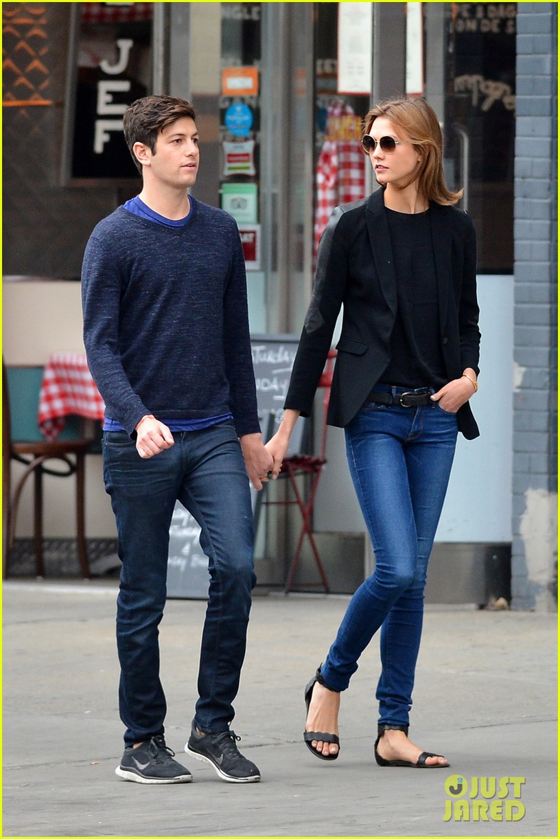 karlie kloss boyfriend joshua kushner nyc denim duo 013121867