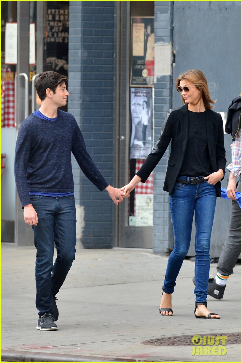 karlie kloss boyfriend joshua kushner nyc denim duo 083121874