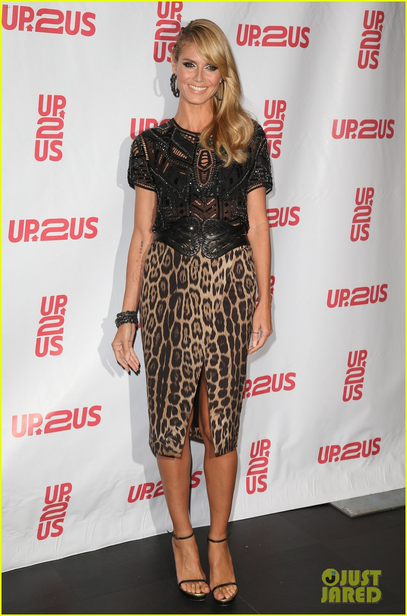 heidi klum supports youth development at up2us gala 033113962