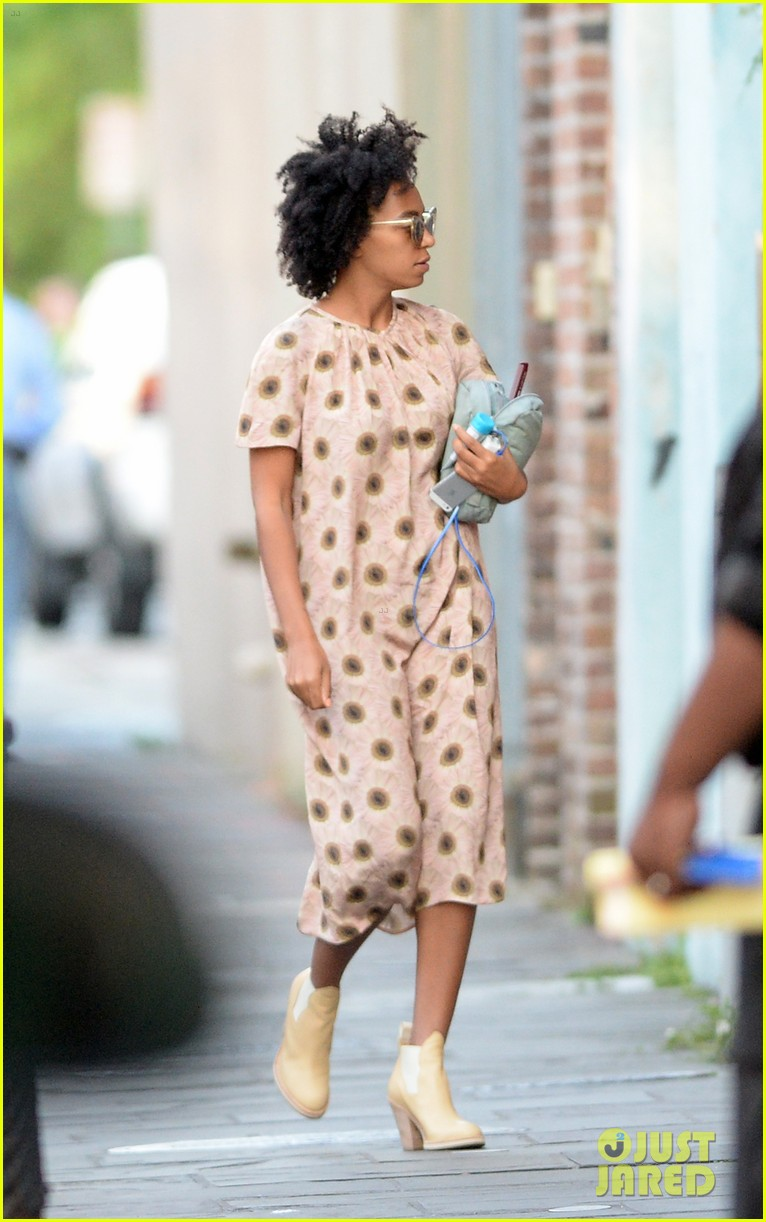solange knowles emerges for first time since elevator fight video leaks 053118178