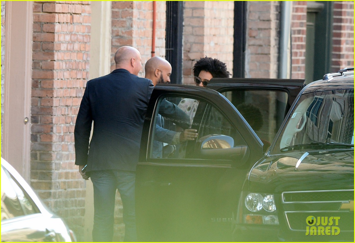 solange knowles emerges for first time since elevator fight video leaks 083118181
