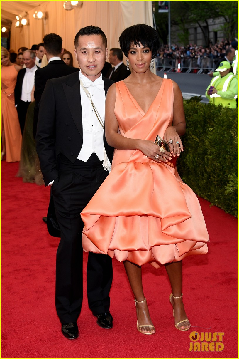 solange knowles debuts pixie hairdo at met ball 2014 04