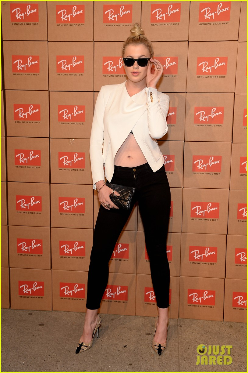 zoe kravitz ireland baldwin get shady to help ray ban debut district 1937 073114914