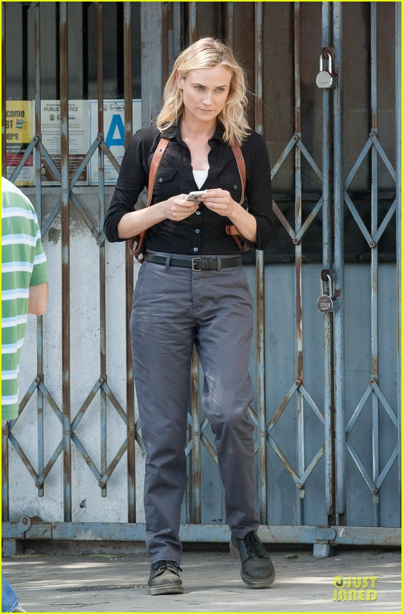 diane kruger shooting bridge second season 013109622