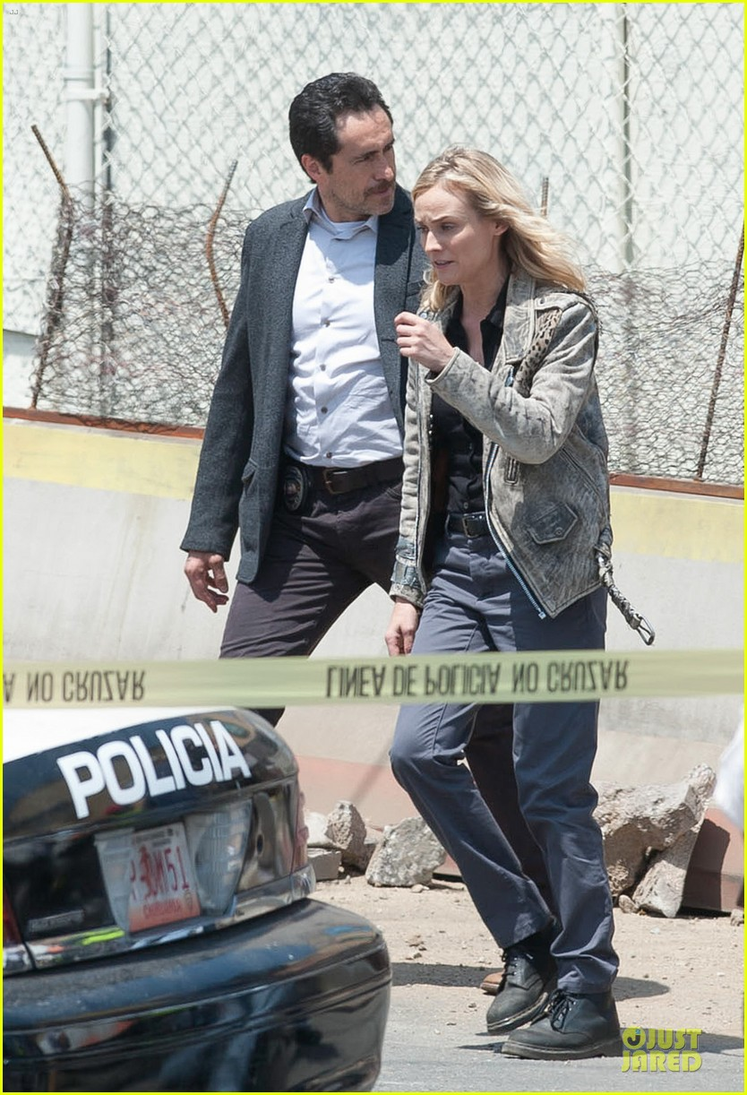 diane kruger shooting bridge second season 053109626