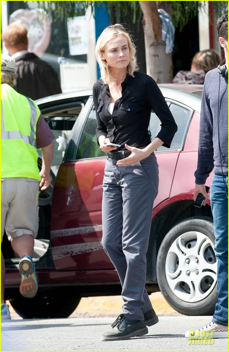 diane kruger shooting bridge second season 083109629