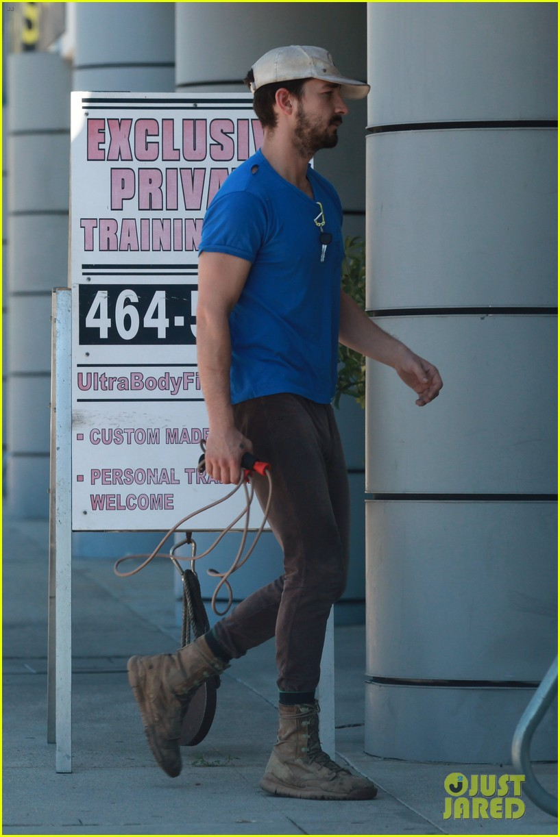 shia labeouf sure is dedicated to the gym these days 05