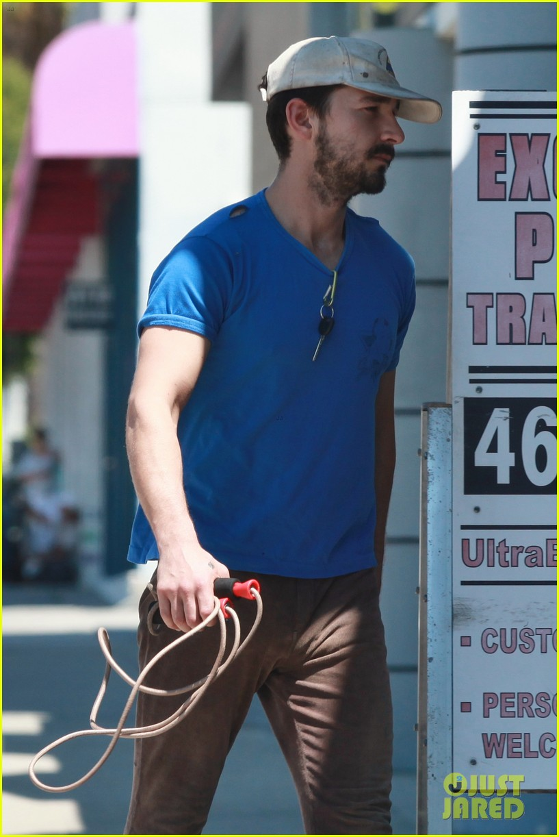 shia labeouf sure is dedicated to the gym these days 123104381