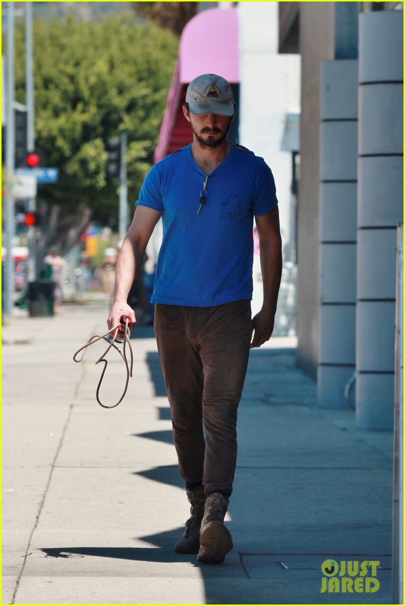 shia labeouf sure is dedicated to the gym these days 153104384