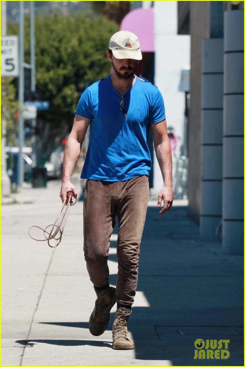 shia labeouf sure is dedicated to the gym these days 173104386