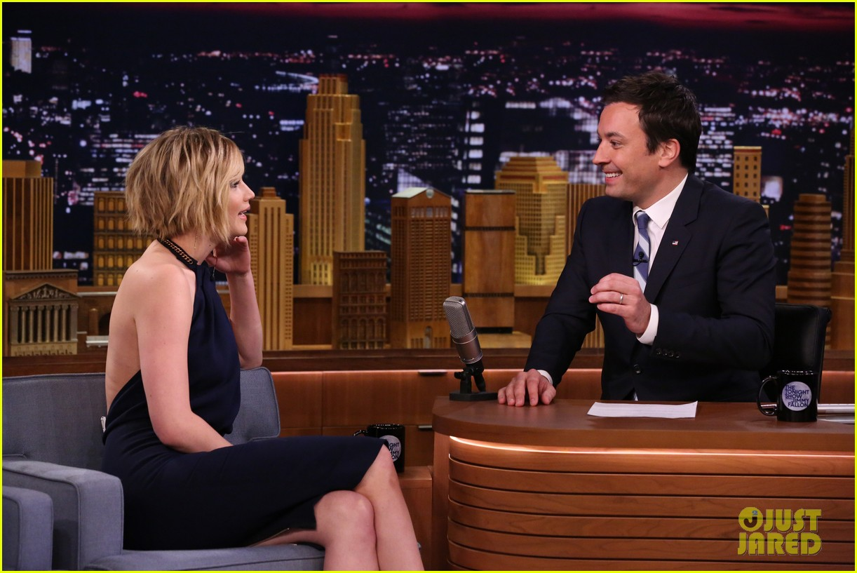 jennifer lawrence bearded lady fallon 023114423