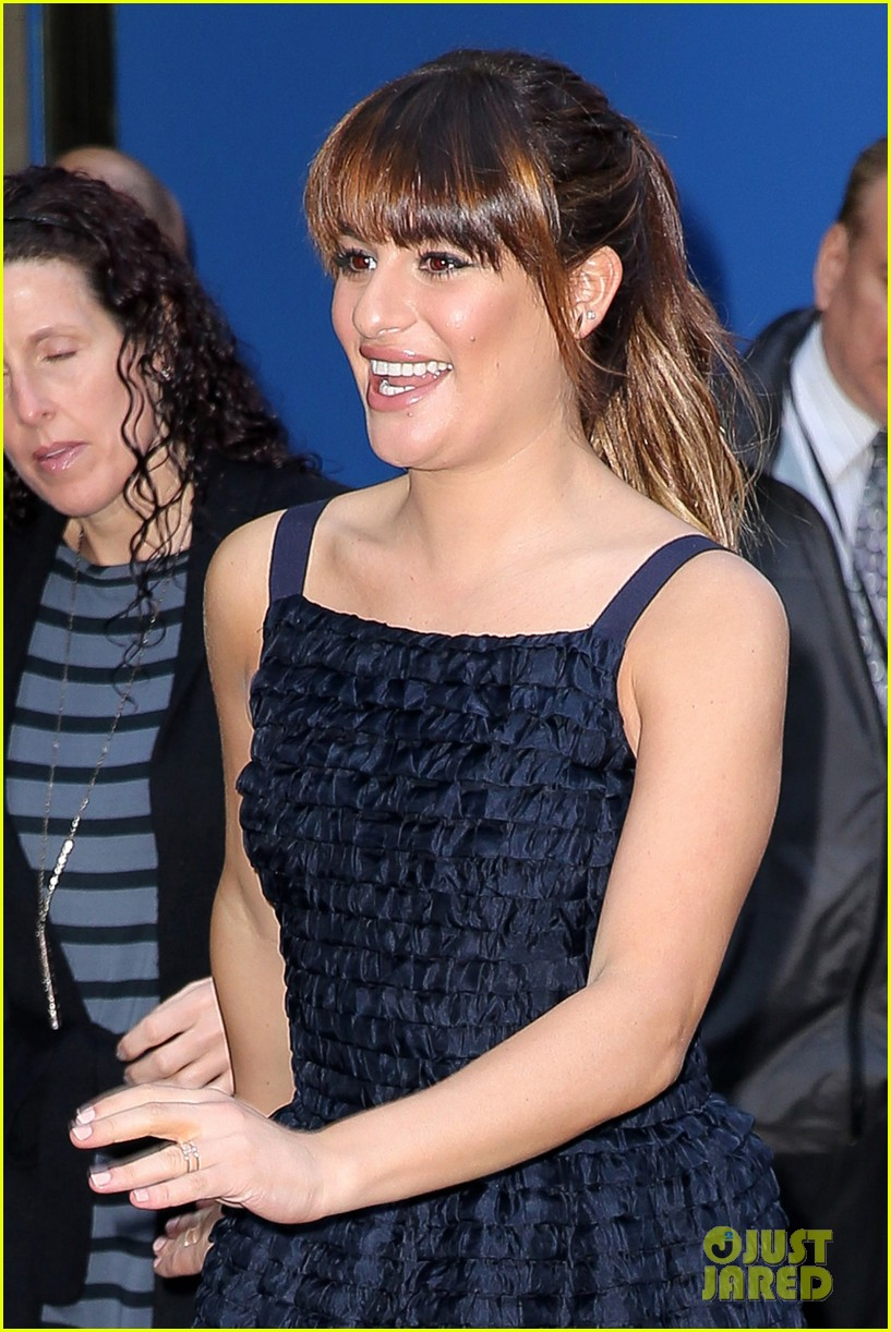 lea michele brunette ambition talk gma 04