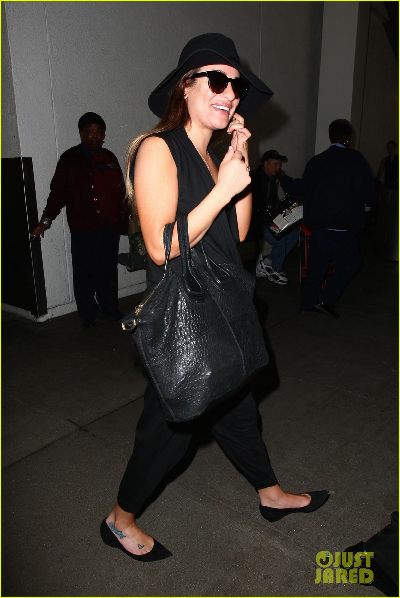 lea michele book signing grove brunette ambition 133120300
