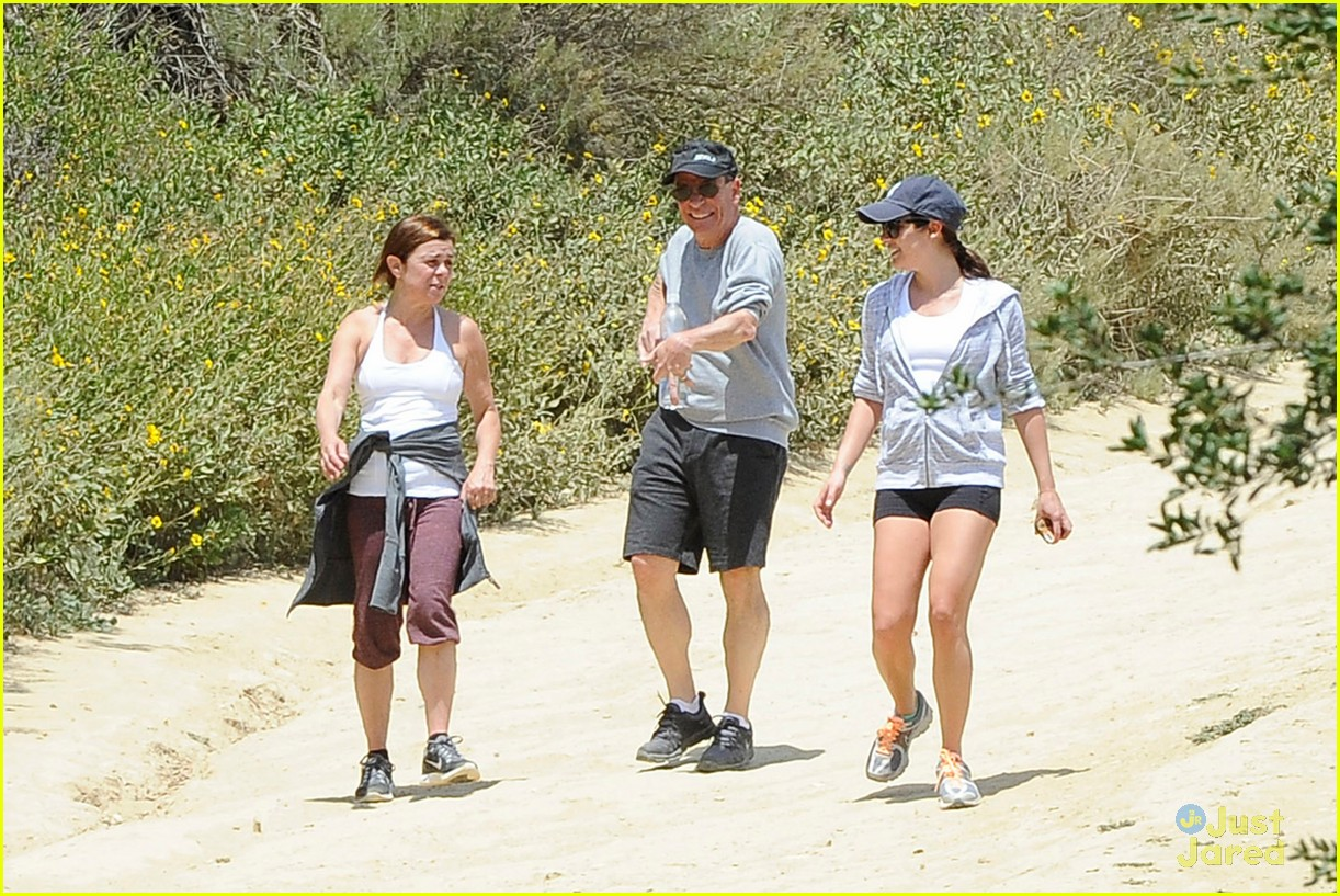 lea michele hike parents funny girl 133109893