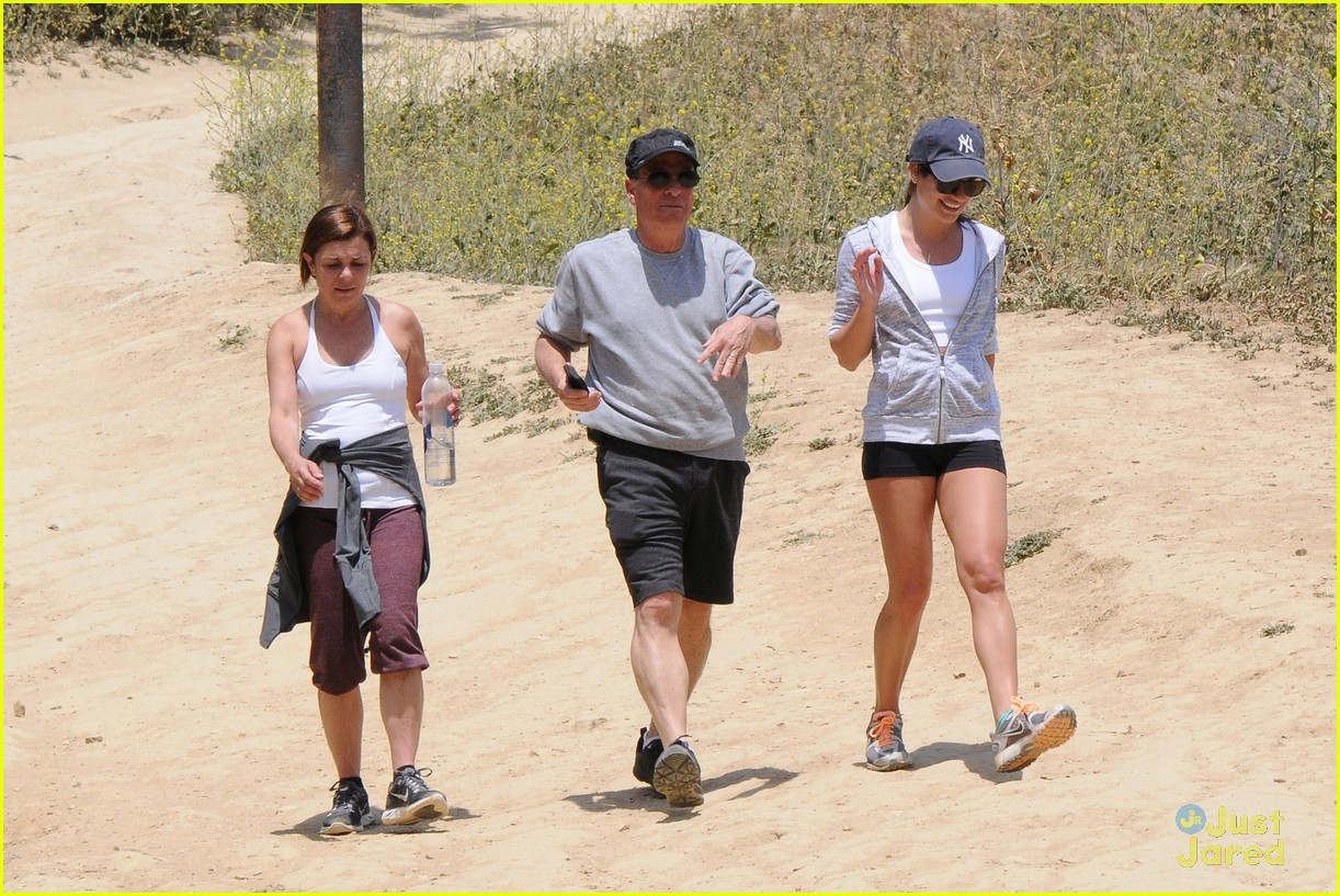 lea michele hike parents funny girl 203109900