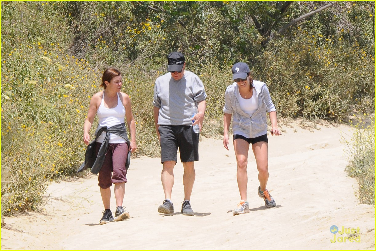 lea michele hike parents funny girl 27