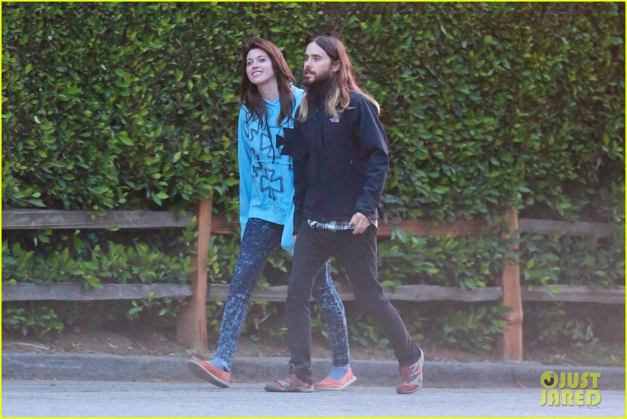 jared leto goes for a hike with a female companion 023109490
