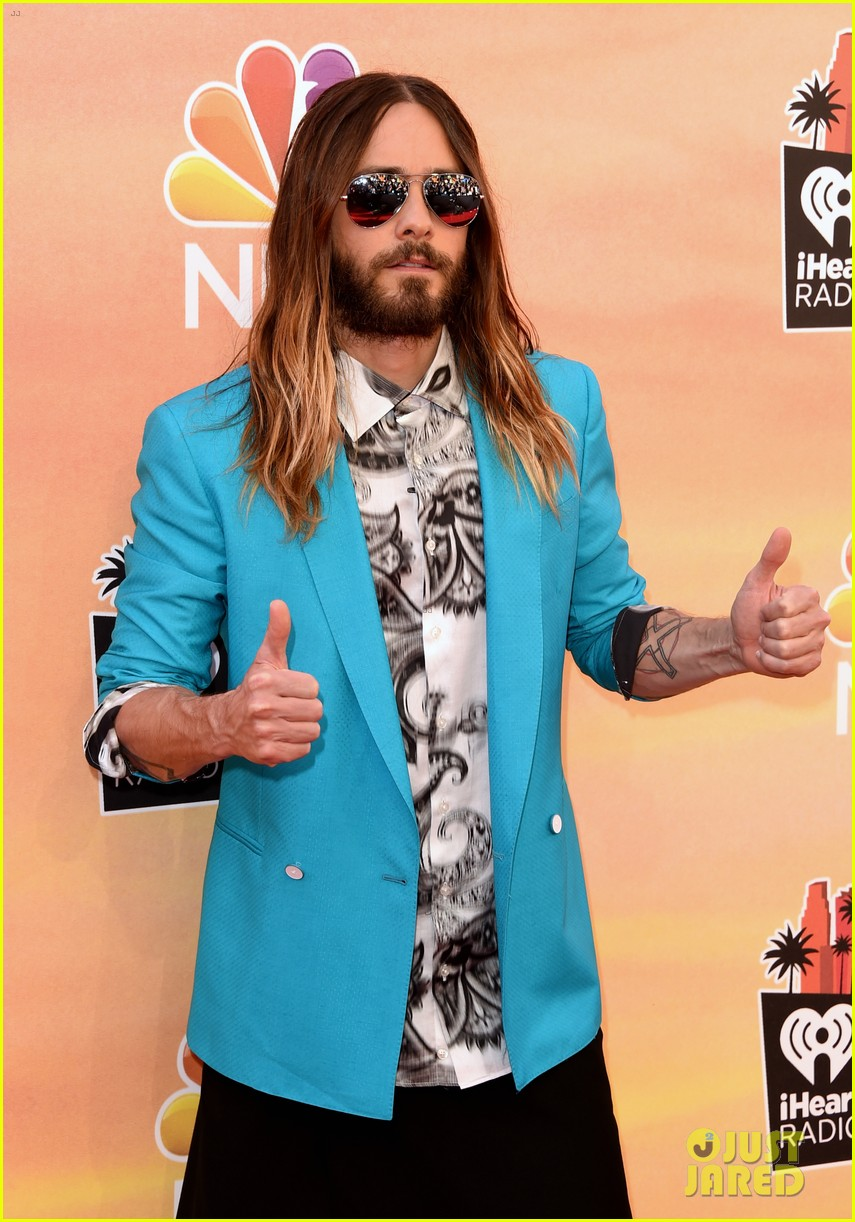 jared leto iheartradio music awards 2014 063103292