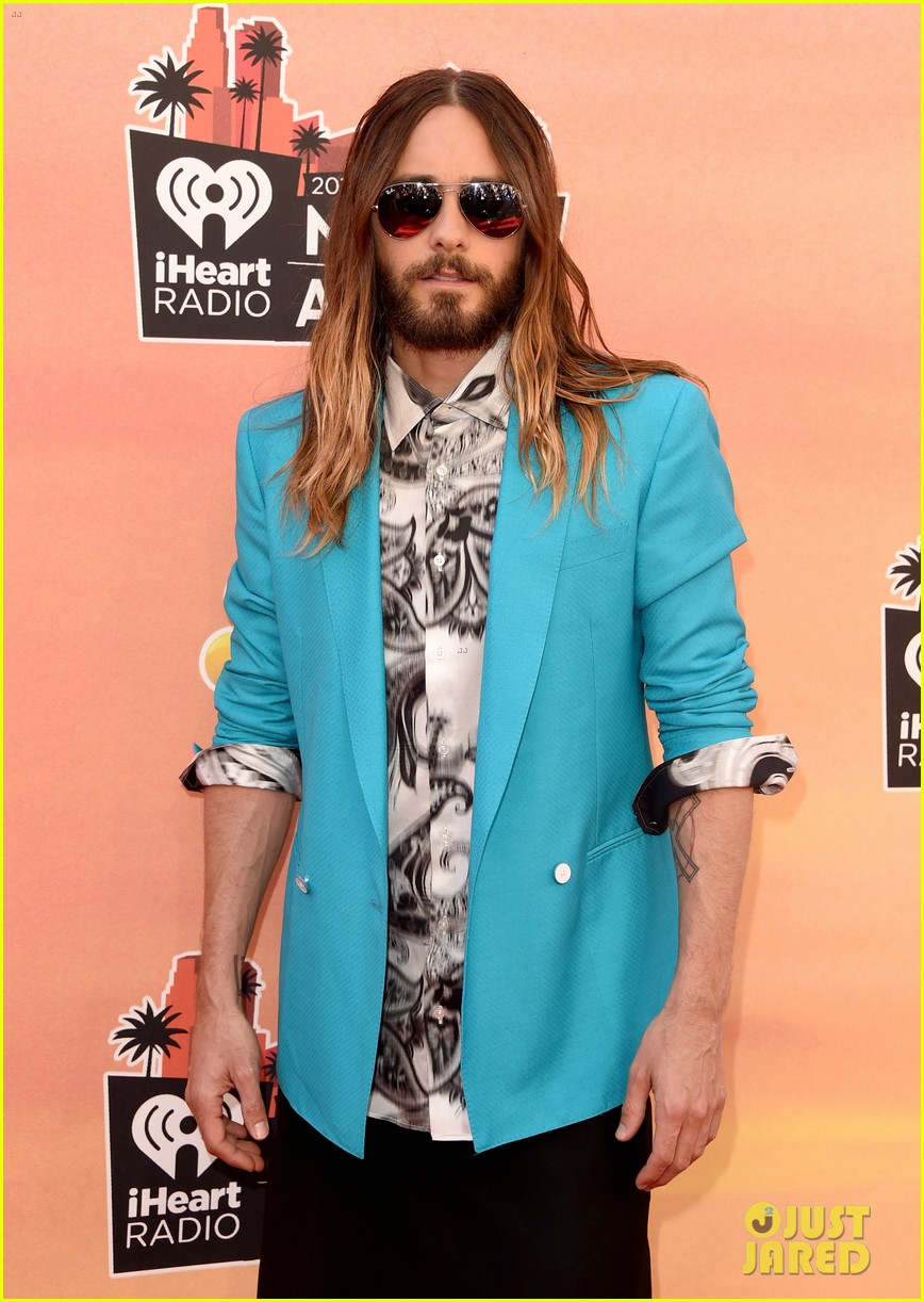 jared leto iheartradio music awards 2014 073103293