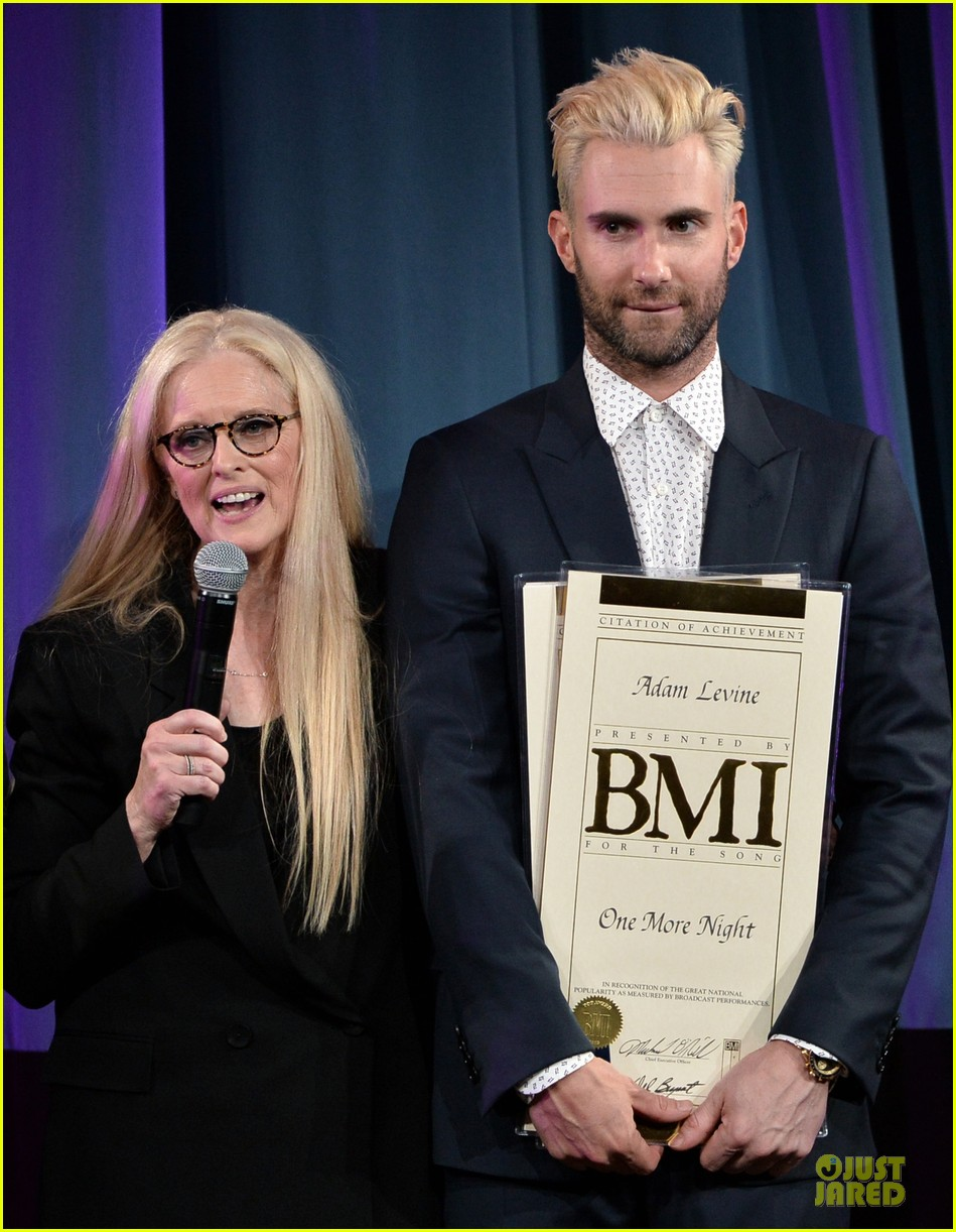 adam levine bmi songwriter of the year 073113038