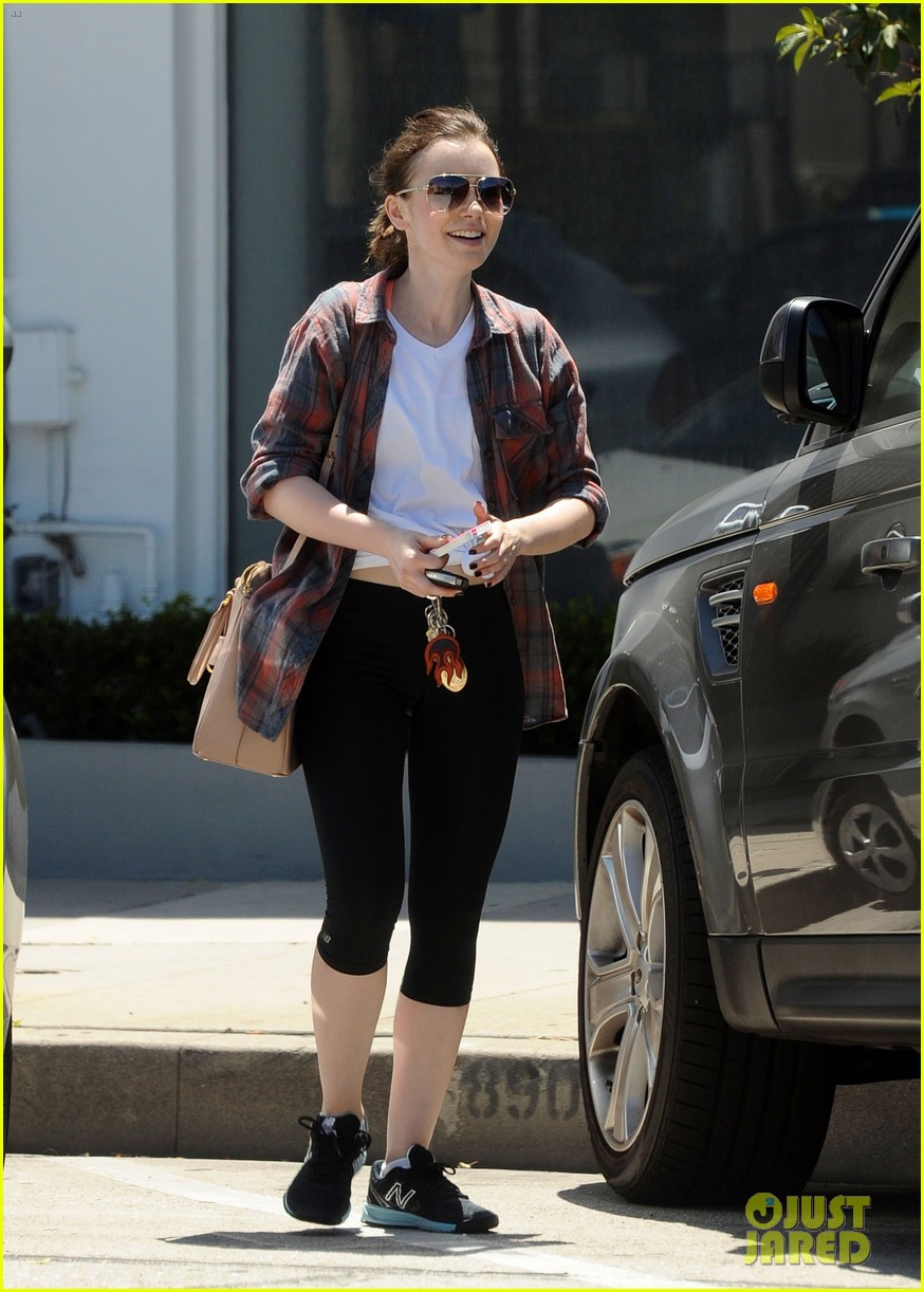 lily collins treat yourself nicely mondays 043112396