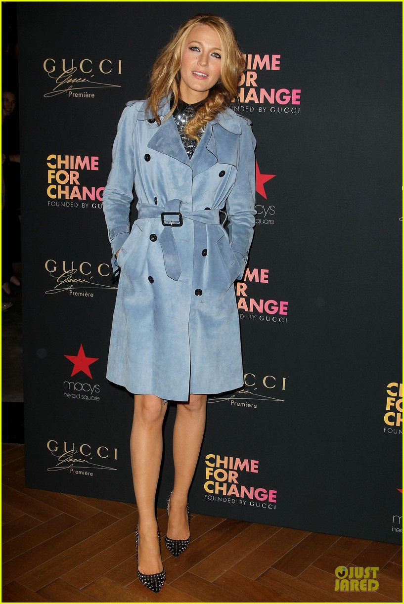 blake lively promote gucci chime for change 133107072