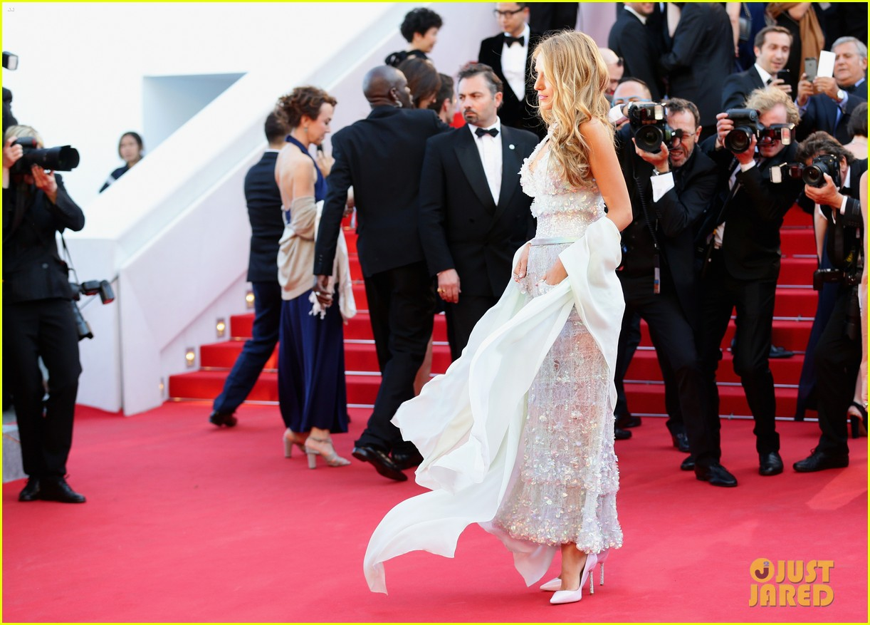 blake lively keeps her hands in her couture dress pockets 063114060