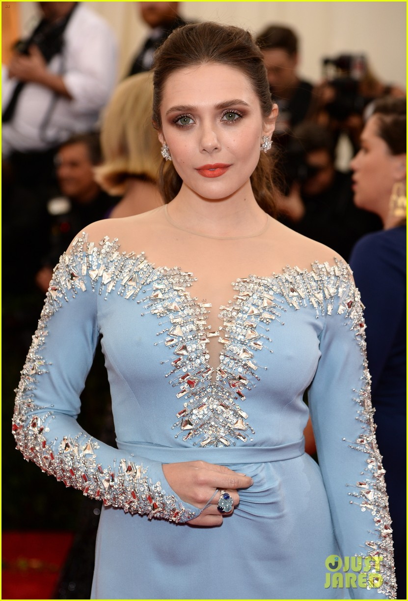 elizabeth olsen met ball 2014 red carpet 03