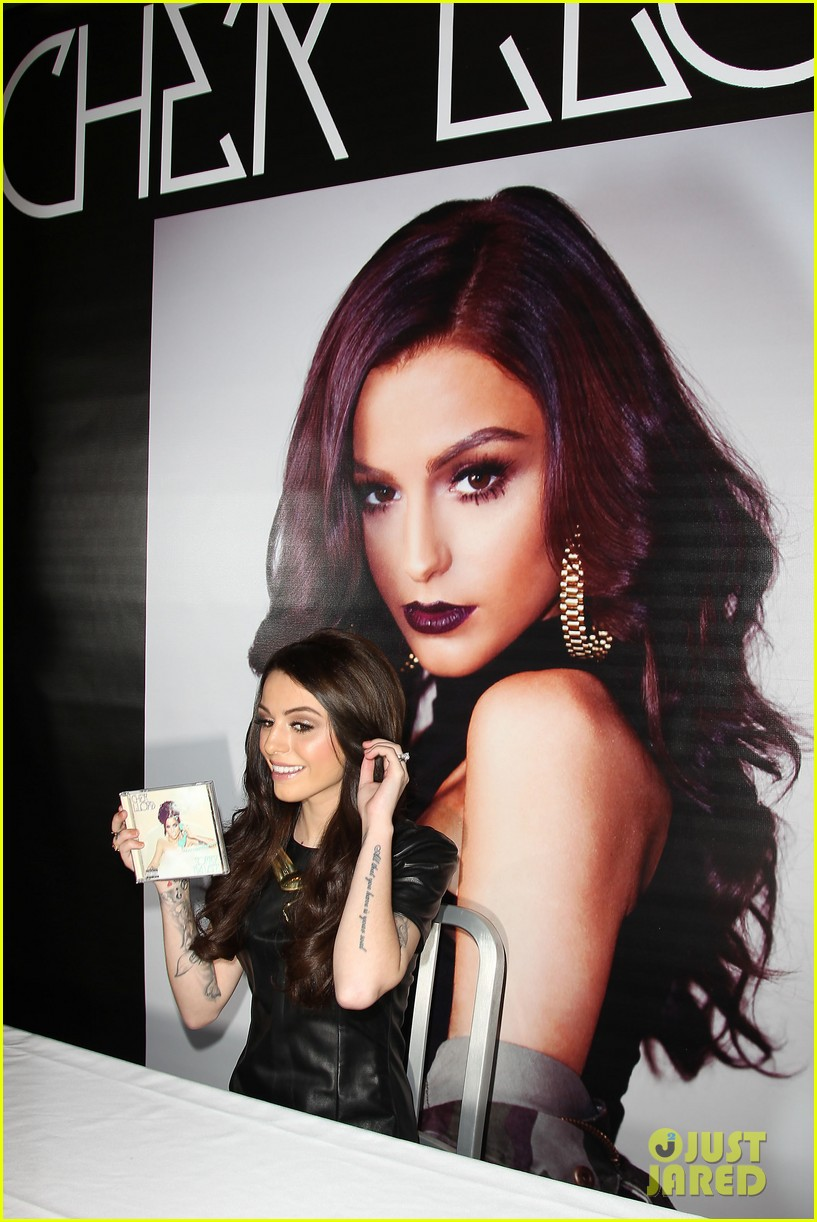 cher lloyd celebrates sorry im late album release in nyc 033123207