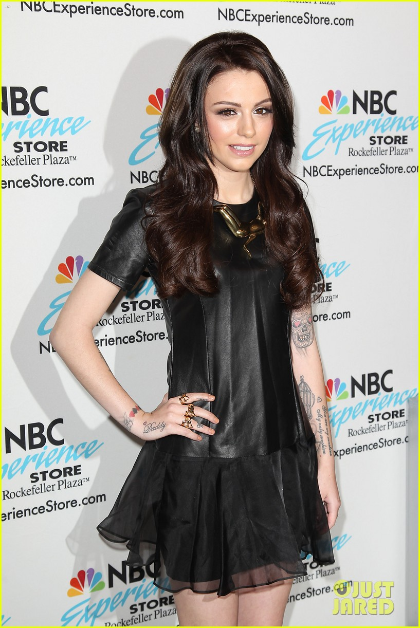 cher lloyd celebrates sorry im late album release in nyc 053123209