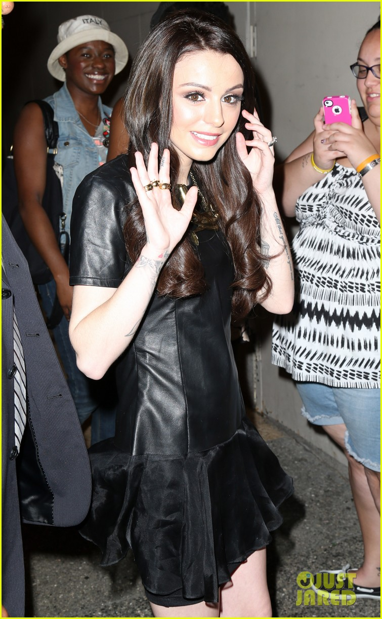 cher lloyd celebrates sorry im late album release in nyc 14