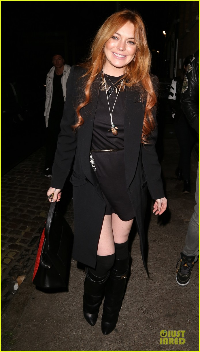 lindsay lohan lily allen hooked on chiltern firehouse 093125135