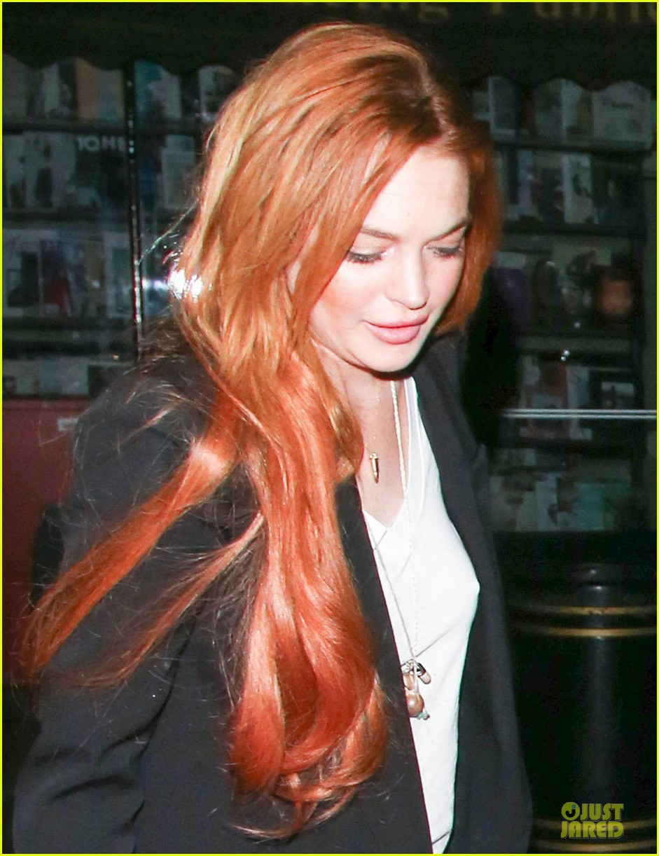 Lindsay Lohan Keira Knightley Heat Up Chiltern Firehouse Photo