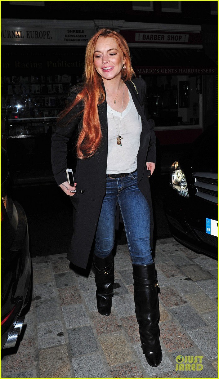 lindsay lohan keira knightley heat up chiltern firehouse 033123694