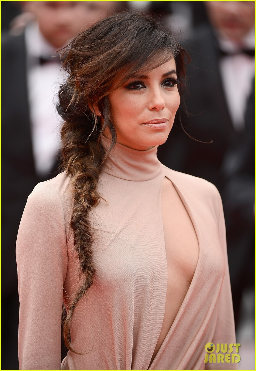 eva longoria riley keough foxcatcher cannes premiere 12