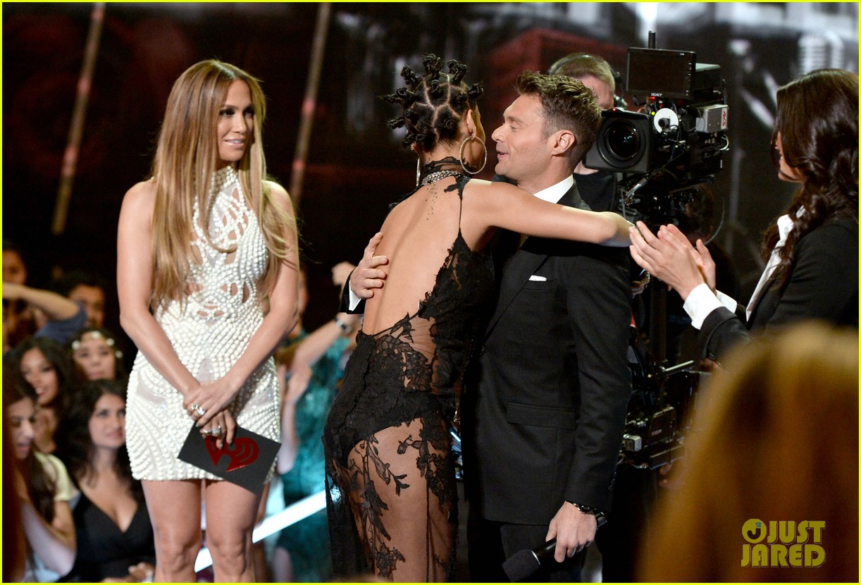 jennifer lopez goes from idol to iheartradio music awards 123103552