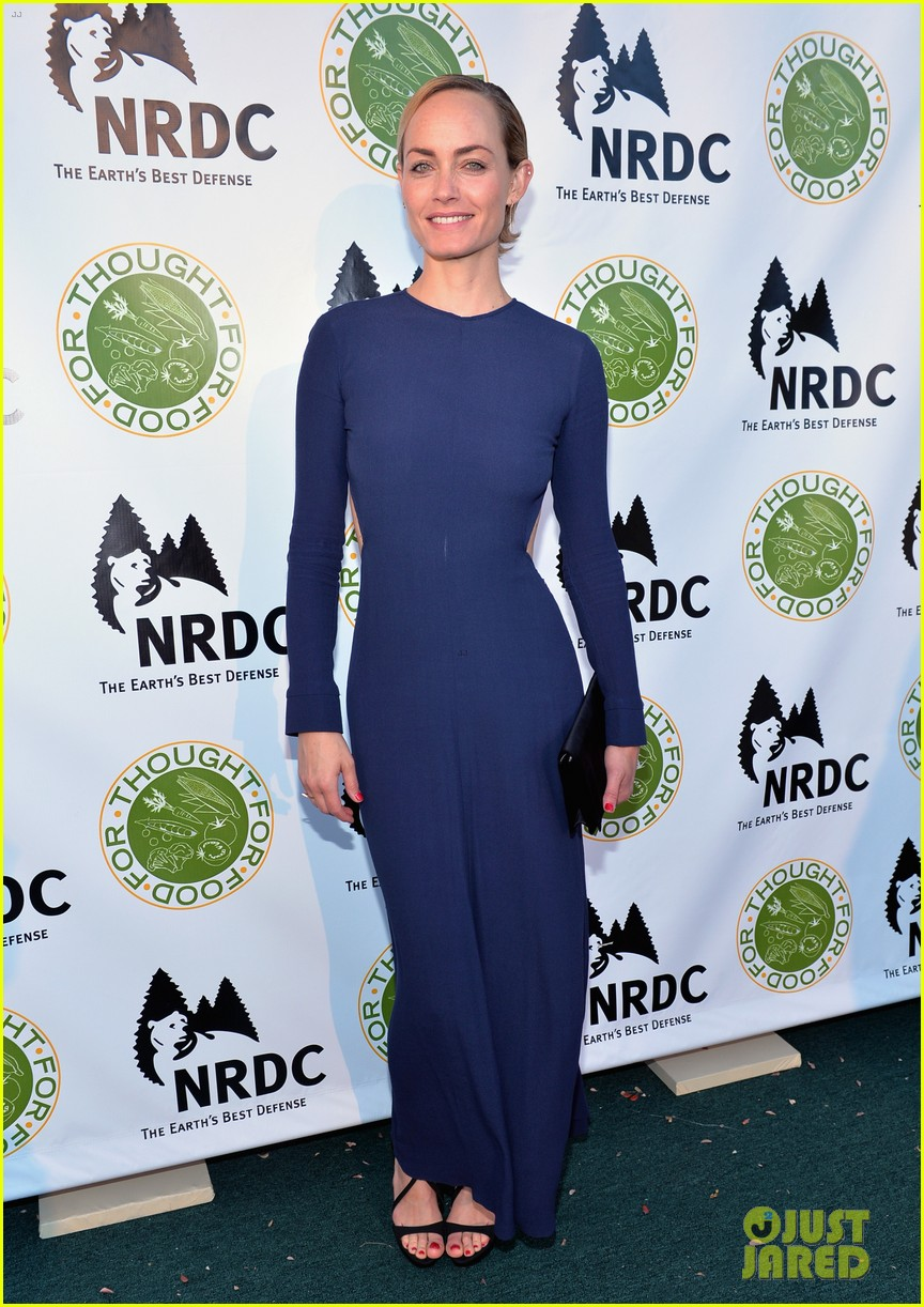 isabel lucas amber valletta get glam for ndrcs food for thought benefit 143124546
