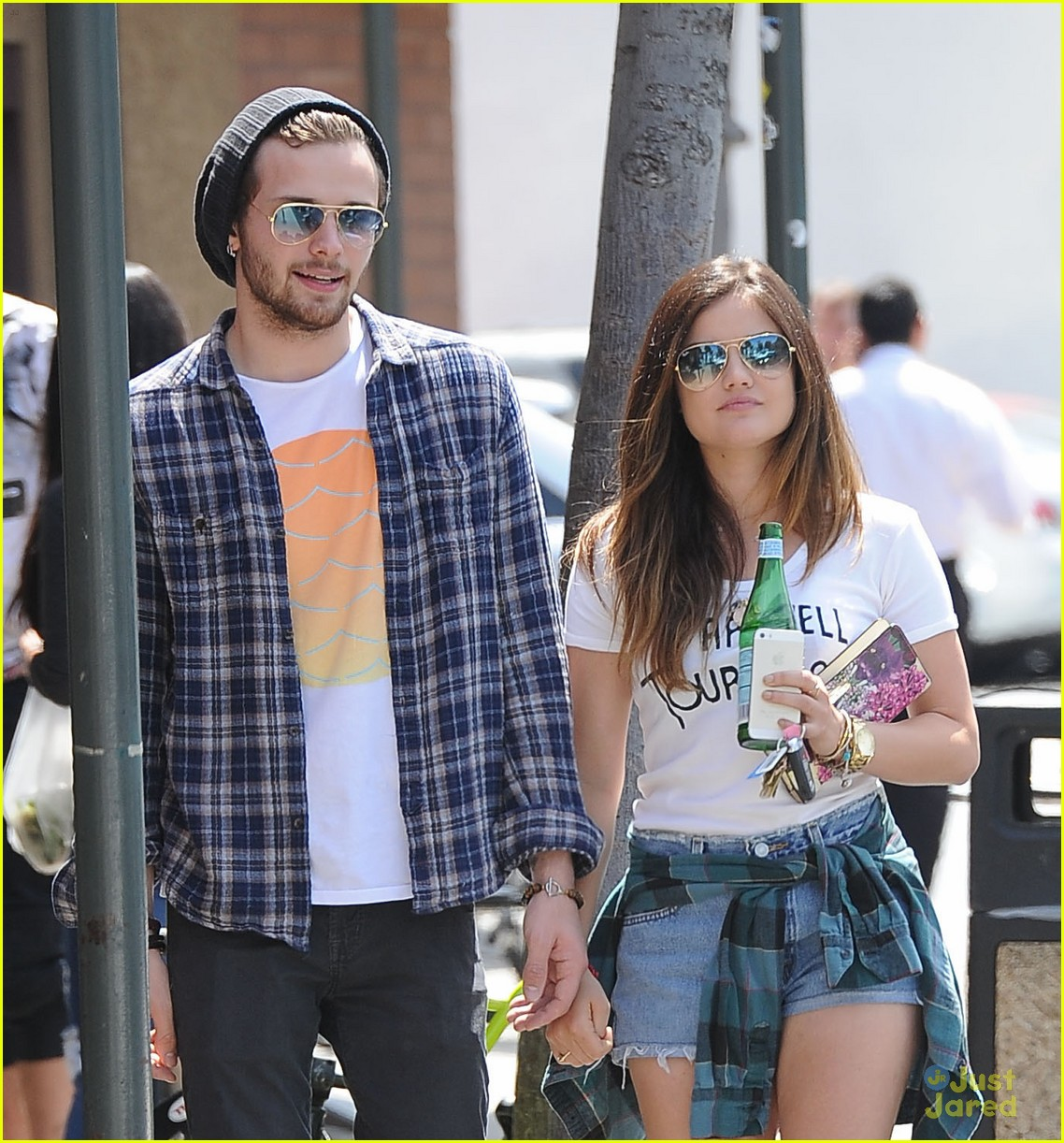 lucy hale joel crouse lunch workout 14
