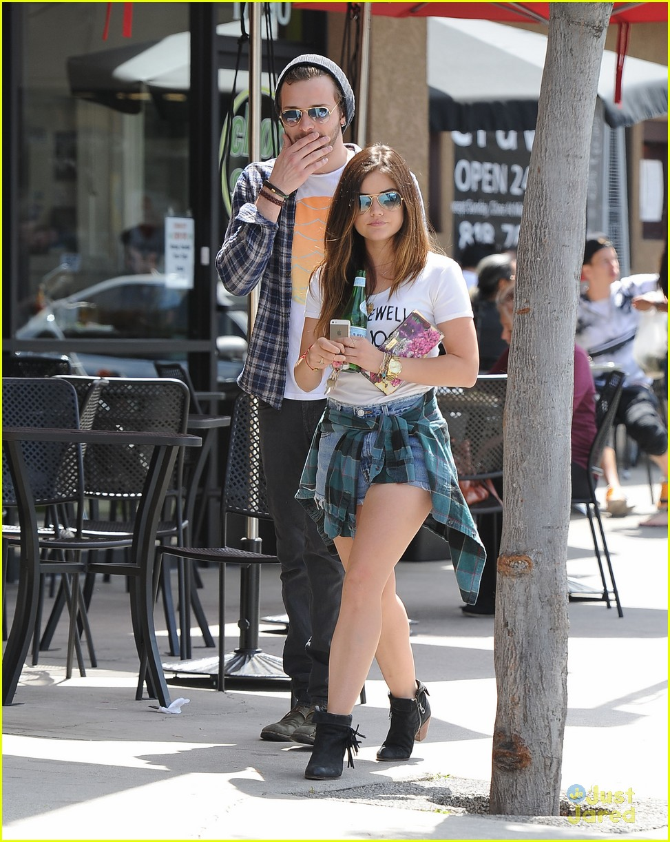 lucy hale joel crouse lunch workout 163108833