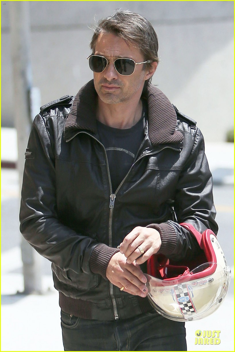 olivier martinez carrys motorcycle purse like a purse 223118682