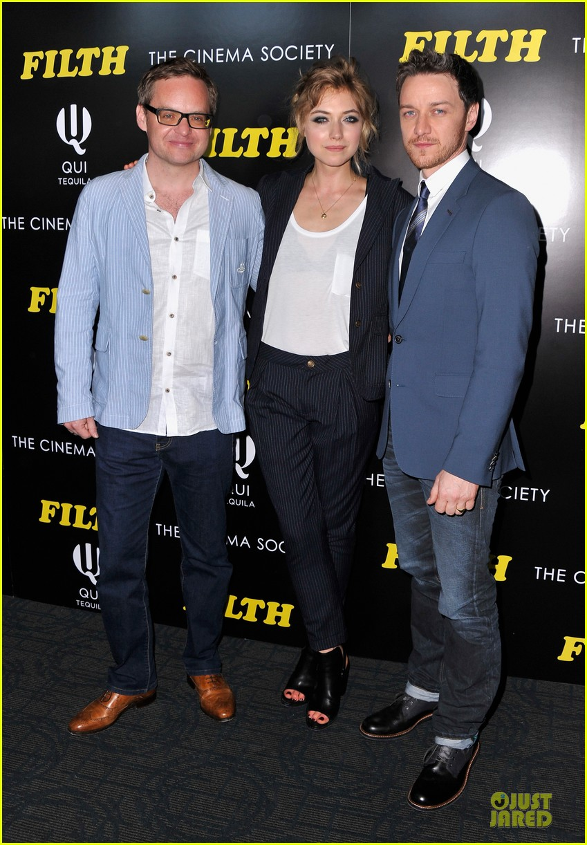 james mcavoy imogen poots filth screening 033117966