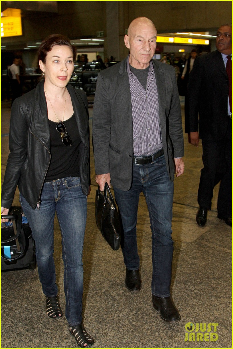 james mcavoy joins patrick stewart in sao paulo for x men press 033113889