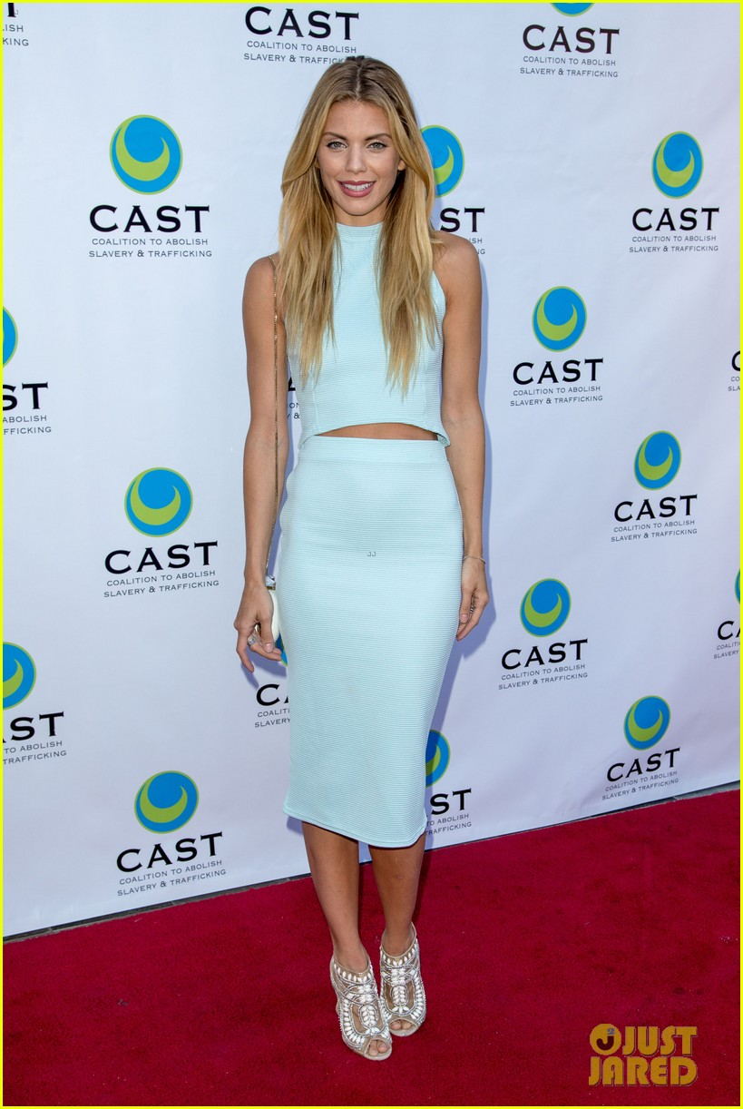 annalynne mccord makes public appearance at slavery to freedom gala 013124593