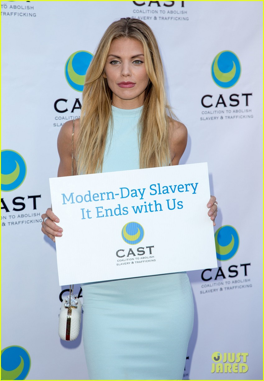 annalynne mccord makes public appearance at slavery to freedom gala 033124595