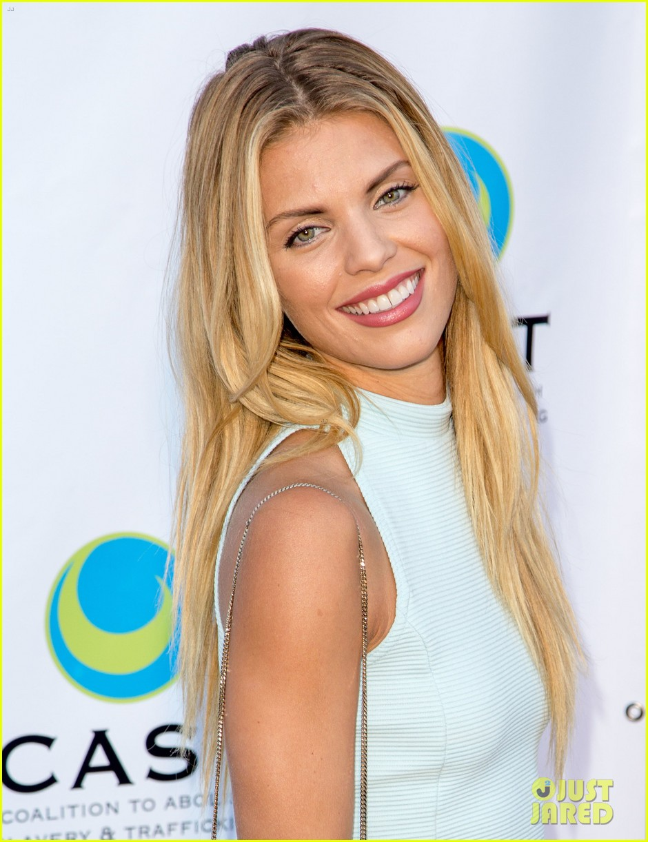 annalynne mccord makes public appearance at slavery to freedom gala 063124598