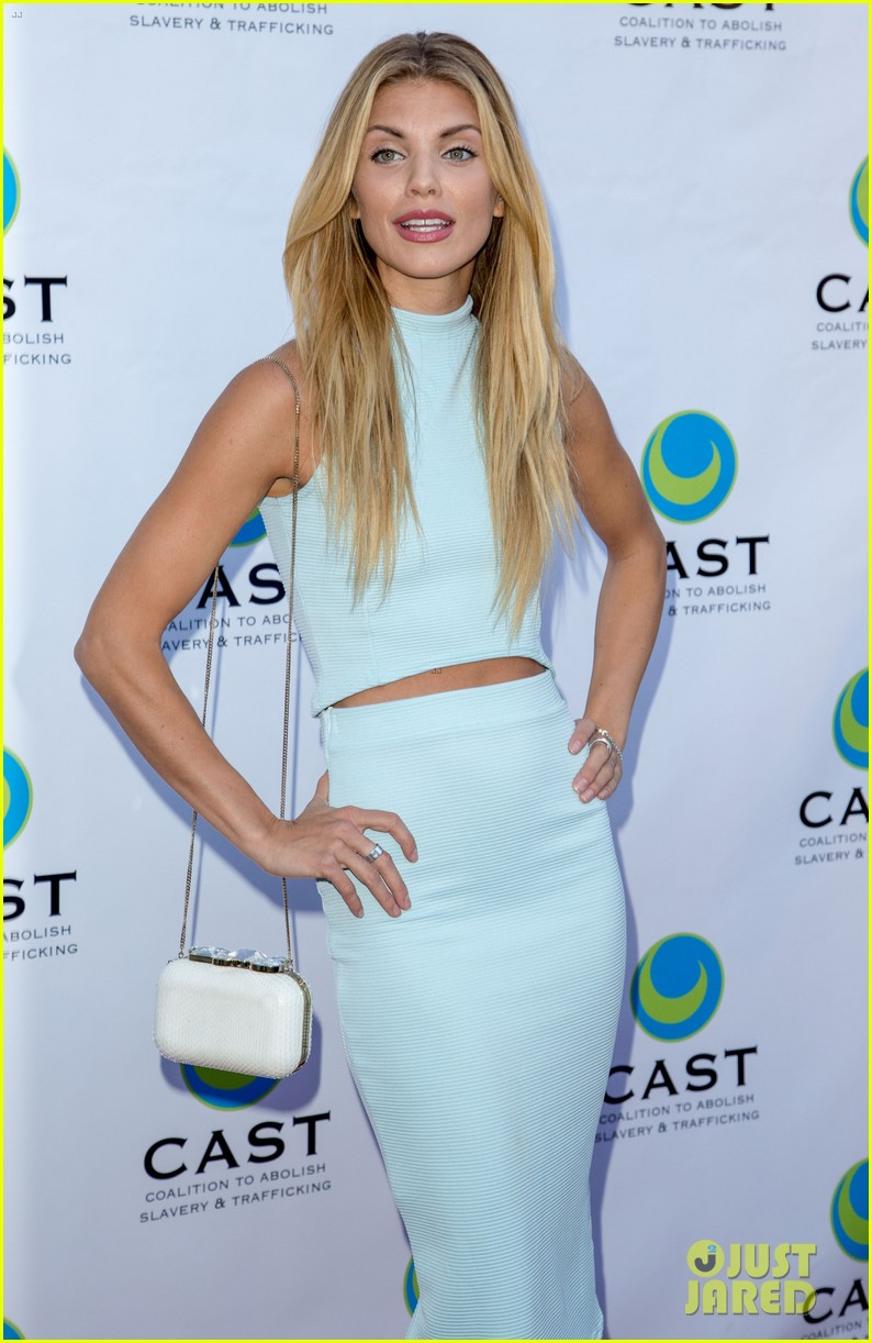 annalynne mccord makes public appearance at slavery to freedom gala 073124599